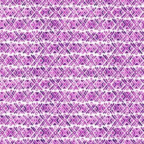 Sonoran Stripe - Purple - Smaller Scale