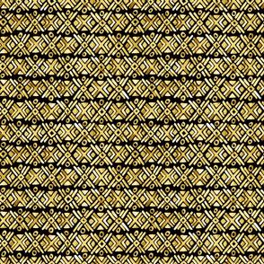 Sonoran Stripe - Golden - Smaller Scale