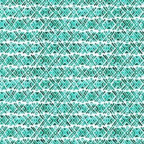 Sonoran Stripe - Emerald Green - Smaller Scale