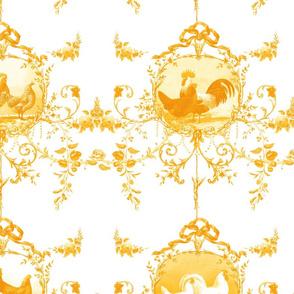Le Toile de Poulet gilded