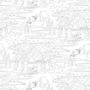 Choose Mountains - Smaller Scale