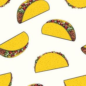 tacos on cream