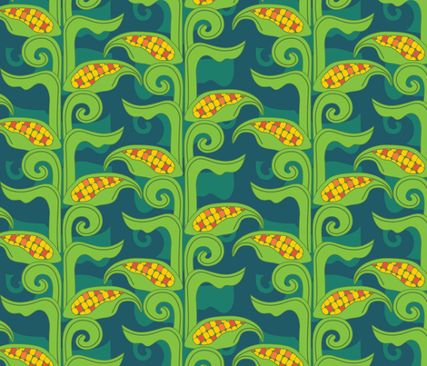 el mais fabric by hedgepigart on Spoonflower - custom fabric