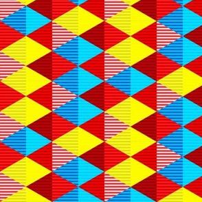 Striped Diamond Grid 2