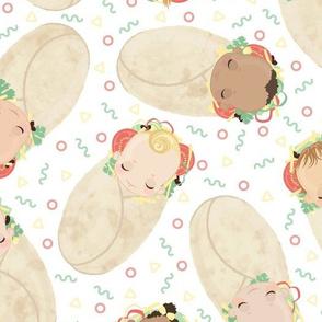 Baby Burritos - Tacos and Burritos Challenge