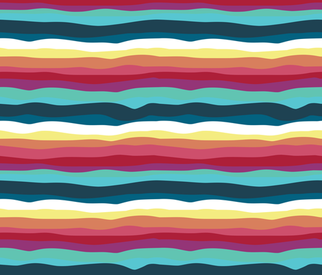 Mexican tacos dogs team // stripes coordinating pattern fabric by selmacardoso on Spoonflower - custom fabric