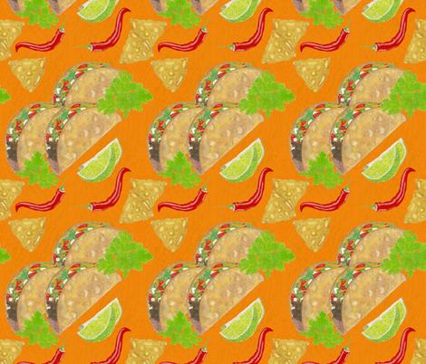 On Tuesdays We Taco fabric by iadesigns on Spoonflower - custom fabric