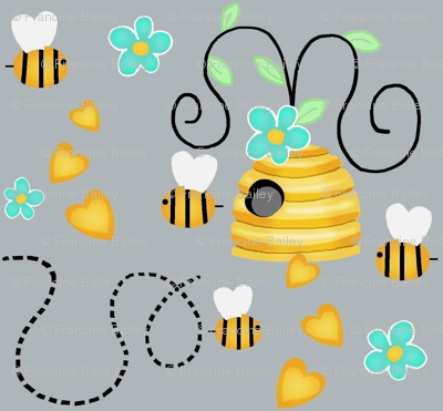 Whimsy Bee Hive