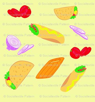 burritos and tacos