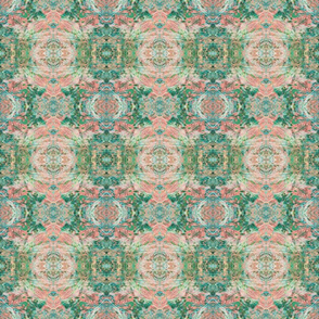 New Mock Floral Abstract Tribal Ikat Pattern