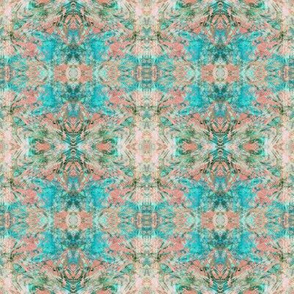 New Mock Floral Abstract Tribal Direction Pattern