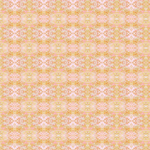 Mock Floral Pale Bouquet Pattern