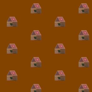 housePlay436 Brown