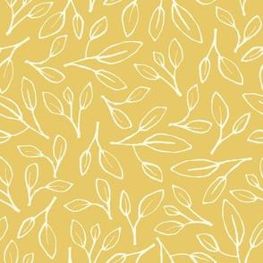 Leafy - yellow
