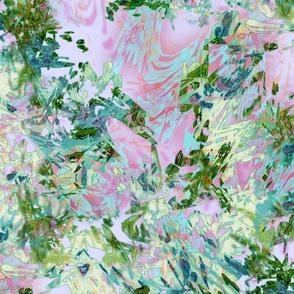 Mock Floral Drama Repeat