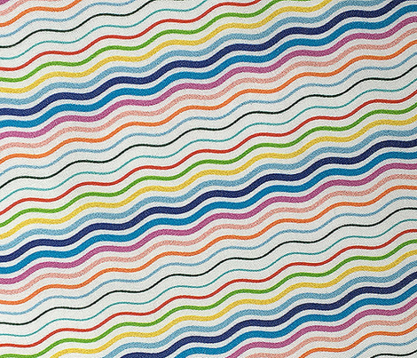 Postmark Stripes* || stripe stripes striped wave waves postmark snail mail post rainbow