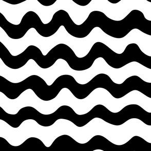 RickRack Black & White in Large Scale