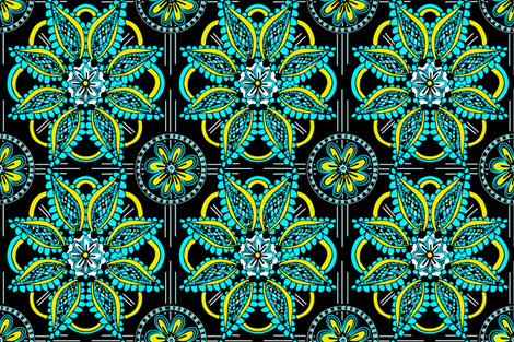 twentiesble fabric by dana_zurzolo on Spoonflower - custom fabric