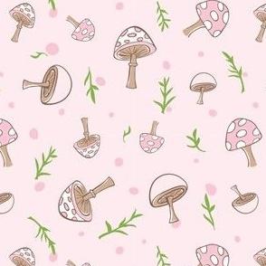 Woodland Mushrooms Petal