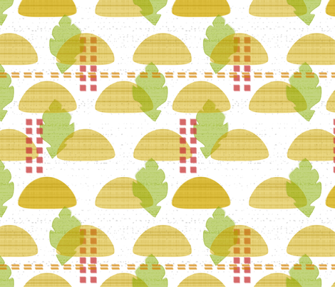 mod taco fabric by mrshervi on Spoonflower - custom fabric