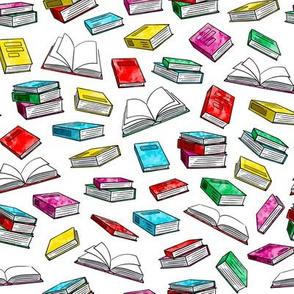 books - watercolor bold
