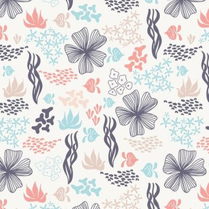 Coral pattern - support