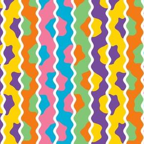 1960s Color Wild Rickrack