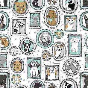 doggo portraits // cute dog, dogs, dog breed, pet, pets, cute dog poodle, terrier, pets, - mint