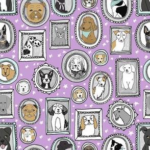 doggo portraits // cute dog, dogs, dog breed, pet, pets, cute dog poodle, terrier, pets, - purple