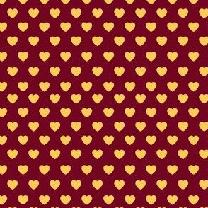 Maroon and gold Love