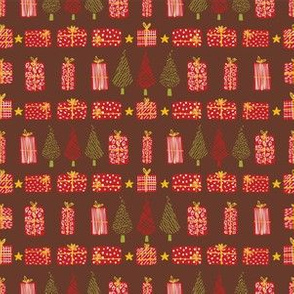Festive Christmas Tree Gift Boxes