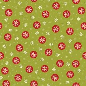 Traditional Christmas Snowflakes