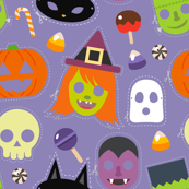 Costumes, Masks And Halloween Candy