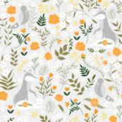 Marigold Meadow - grey