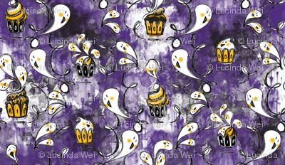 Ghoulish Treats in Purple - © Lucinda Wei