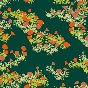fey poppies emerald