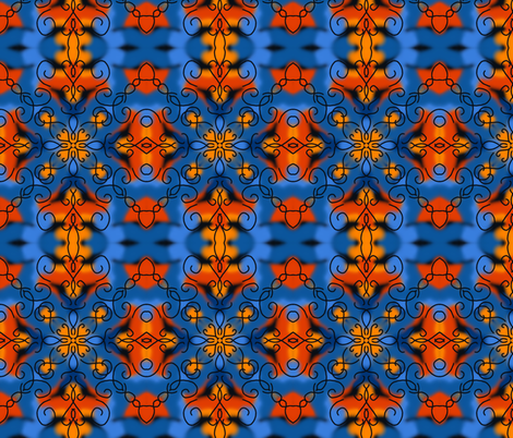 pacific fabric by crookedlittlestudio on Spoonflower - custom fabric