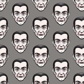 Dracula - grey - halloween