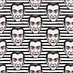 Dracula - black stripes - halloween