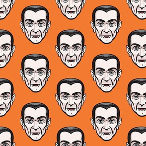 Dracula - orange - halloween