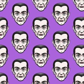 Dracula -  purple - halloween