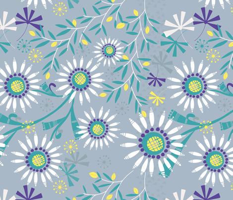 Dasiy Dasiy fabric by amanda_claire_designs on Spoonflower - custom fabric