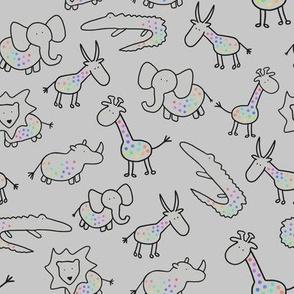 Baby savanne, Grey