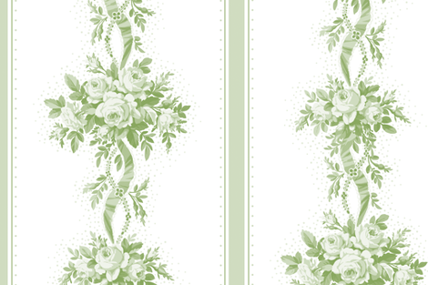 Marjorie basil fabric by lilyoake on Spoonflower - custom fabric
