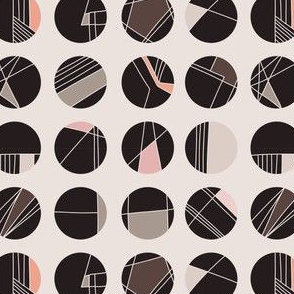 Abstract Geometric Circle Grid