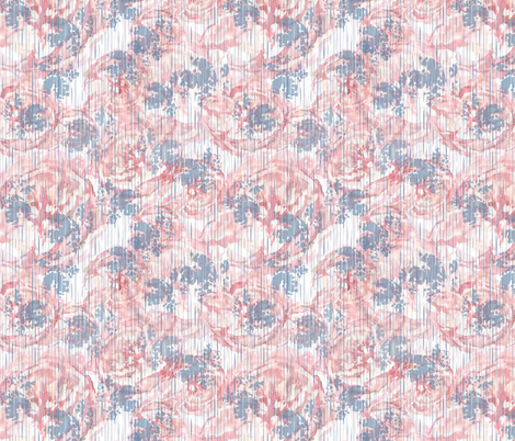 Vintage Floral - Pale Pink fabric by sarah_treu on Spoonflower - custom fabric
