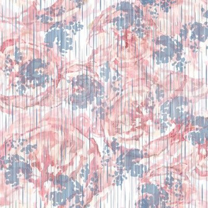 Vintage Floral - Pale Pink
