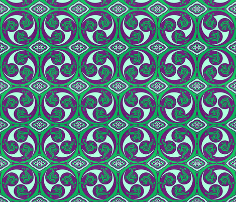 japonaise 109 fabric by hypersphere on Spoonflower - custom fabric