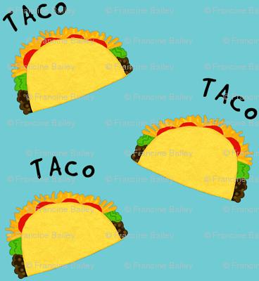 Tiny Taco / blue