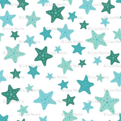 Teal Starfish